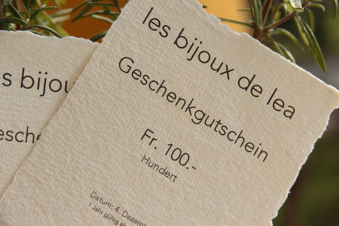 Gutschein Fr. 100.-